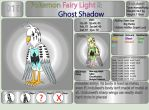 Pokemon Fairy Light and Ghost Shadow ''018'' by AndkeAnka