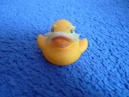 The lorax duck by ShayeraLee