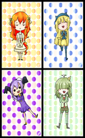 Chibis Request 1-2 by AnitaCristi