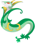 Serperior: The Regal Pokemon by Xeno-Guardian