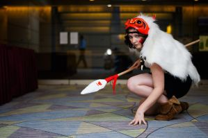 San -Princess Mononoke 01 by Corky-Lunn