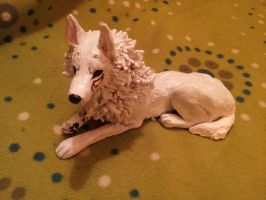Wolf Sculpture 3 by wolfsouled