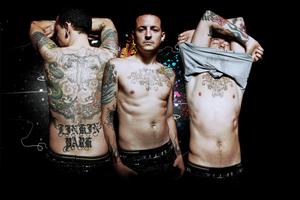 Chester Bennington by claudiaradcliffe