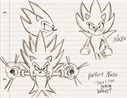 Nazo and Perfect Nazo by YGOdemoron