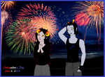 Happy Independence day 2015! by LuckyLadyXandra