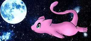 Mew In Space by ShadowxJamie