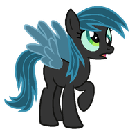 Derpy Hooves in Queen Chrysalis's colors by AdolfWolfed4Life
