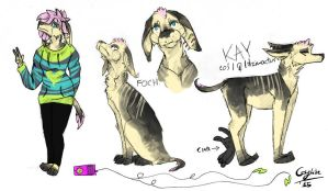 Kay /Ref Sheet/ by Coyskiie