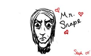 Mr.Snape by ZeldaH0ttie