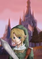 Link--Twilight in Hyrule by Koriiko-chan