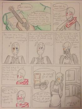 Gaster gang- little song page 4 by CryingArtist156