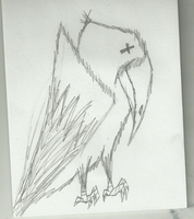 died the Raven (Persona's Fallower Raven) by Dysfunctional-H0rr0r