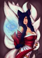 Ahri by SandraLeeShadows