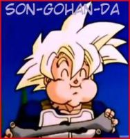 Gohan's ID by graphicspark