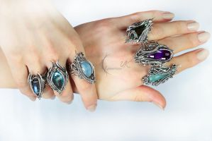 Rings by Lunarieen UK by LUNARIEEN