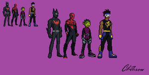 Clethrow's Favorite Characters Sprited by Clethrow