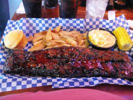 Famous Dave's Baby Backs by BigMac1212