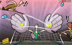 Hart saves the day for Manchester City by OmarMomani