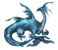Aqua Dragon, Syldra by AquaMind
