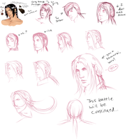 The Epic Battle Of Deciding A Hairstyle by TheComicStream