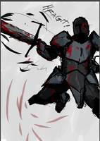 Edgy Knight by TheDarkSoulsElitist