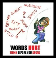 Words Hurt by wahyawolf