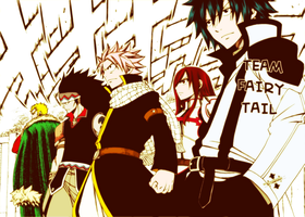 Fairy Tail - The strongest team by Arahnid