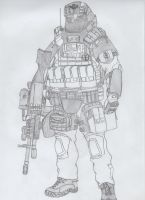 Staff Sgt. Bill Hanson by jmig3