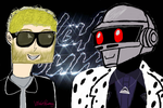 Thomas Bangalter 2014 Birthday :D by VioletRosemary
