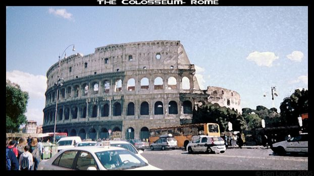 The Colosseum- Rome by Aidoneus