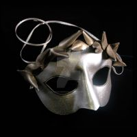 Greek Goddess Mask by pilgrimagedesign