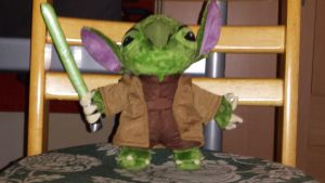 Yoda Stitch plush by NeoseekerStitch