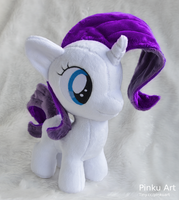 Rarity filly by PinkuArt