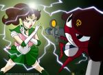 Sailor Jupiter vs Giroro by ArthurT2015