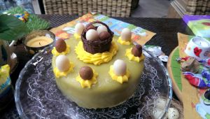this Easter's mini carrot cake by JlndRmll