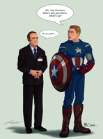 Cap 'n Coulson - Collab by DJCoulz