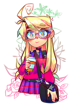 I'm Me by Krooked-Glasses