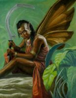 African Faerie by HasaniClaxton