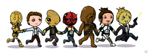 ToR - Smuggler and friends by saurien