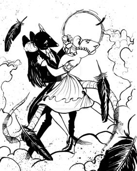 A Dance with Death by alejandrodraws