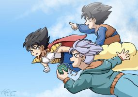 DBZ Find Those Dragonballs by LauraDoodles