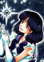 Sailor Saturn for lilith-serap by m-u-ll-e