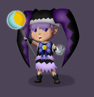Lil  Mage Girl By Insomniacs Corner-d6hbor2 by Insomniacs-Corner