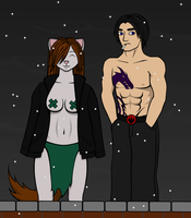 TMNTSS Zalo and Nic by Michelleangela