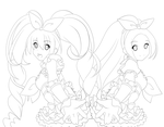 Suite precure lines by Rainbowshi