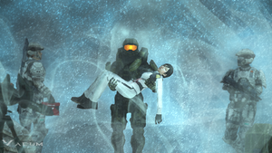 Master Chief's human side by Sigi09