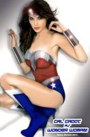 Gal Gadot as Wonder Woman! by renstar71