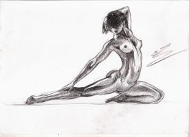 Life drawing02 by emiliestabell