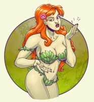 Poison Ivy in color by ccicconi