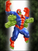 Commish 199: Spider-hulk by rhardo